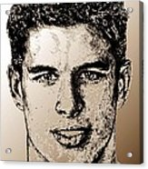 Sidney Crosby In 2007 Acrylic Print