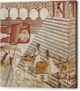 Siege Of Tenochtitlan 1521 Acrylic Print