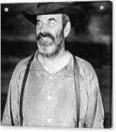 Silent Film Still: Beards Acrylic Print