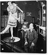 Silent Film Still: Dancing Acrylic Print