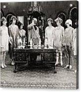 Silent Still: Showgirls Acrylic Print