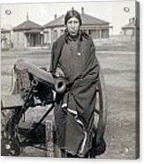 Sioux Warrior, 1891 Acrylic Print