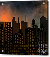 Skyscrapers Acrylic Print