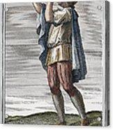 Slide Trumpet, 1723 Acrylic Print
