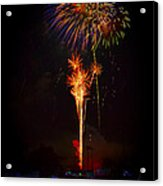Small Town Celebration Acrylic Print