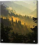 Smoky Mountains Acrylic Print