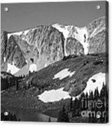 Snowy Range In Summer Acrylic Print