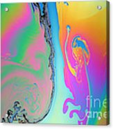 Soap Film Acrylic Print