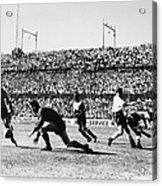 Soccer Match, 1930s Acrylic Print
