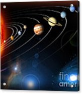 Solar System Acrylic Print