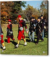 Soldiers March Acrylic Print