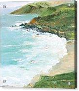 Somewhere On Big Sur Acrylic Print by Max Mckenzie