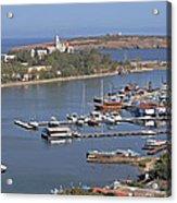 Sozopol Harbour Acrylic Print