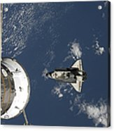 Space Shuttle Endeavour, A Russian Acrylic Print