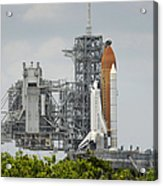 Space Shuttle Endeavour On The Launch Acrylic Print