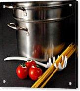 Spaghetti Acrylic Print by HD Connelly