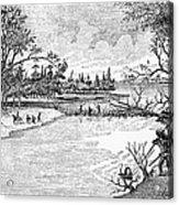 Spirit Lake Massacre, 1857 Acrylic Print
