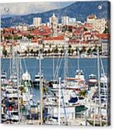 Split Cityscape Acrylic Print