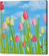 Spring Festival Acrylic Print by Holly Donohoe