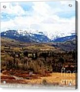 Spring In The Rockies Acrylic Print