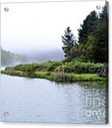 Spring Morning Big Ditch Lake Acrylic Print