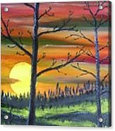 Spring Sunrise Acrylic Print