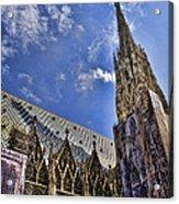 St Stephens - Vienna Acrylic Print