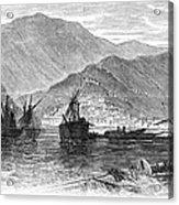 St. Thomas: Hurricane, 1867 Acrylic Print