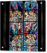 Stained Glass Pc 05 Acrylic Print