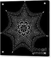 Star Fish Kaleidoscope Acrylic Print