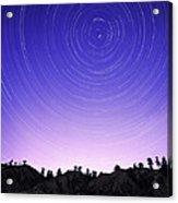 Star Trails Acrylic Print