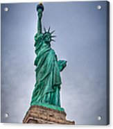 Staute Of Liberty Acrylic Print