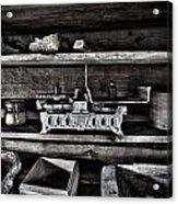 Steelyard Acrylic Print