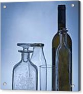 Still Life Of Bottles  Acrylic Print