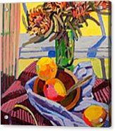 Still Life With Mangoes Acrylic Print