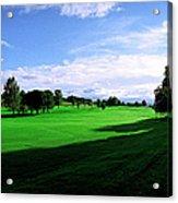 Stirling Golf Club Fairway Acrylic Print