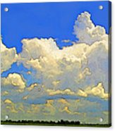 Storm Clouds Rising  Art Acrylic Print