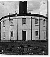 Stormy Lighthouse Acrylic Print