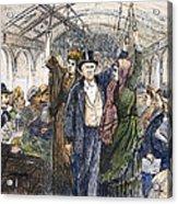 Streetcar, 1876 Acrylic Print