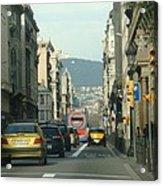 Streets Ahead Acrylic Print