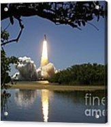 Sts-121 Launch Acrylic Print