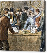 Suffrage: Woodhull Sisters Acrylic Print