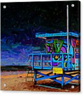 Summer Of Color Acrylic Print
