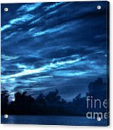Sunrise In Blue Acrylic Print