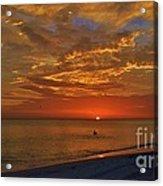 Sunset Ami Acrylic Print