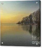 Sunshine Over A Lake Acrylic Print