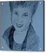 Susan Acrylic Print