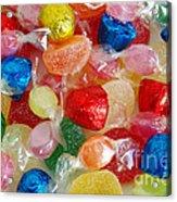 Sweet Candies Acrylic Print