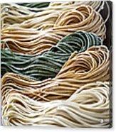 Tagliolini Pasta Acrylic Print