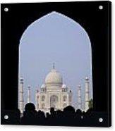 Taj Mahal, Agra India Acrylic Print